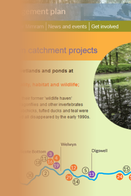 Catchment management plan website