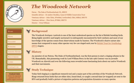 The Woodcock Network